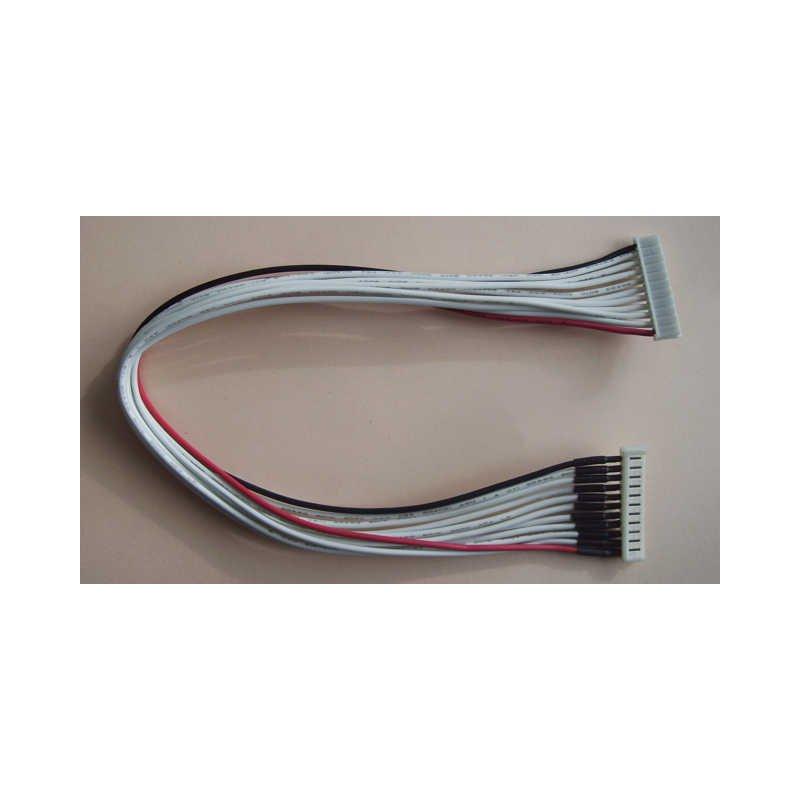verl ngerung eh buchse eh stiftteil 7 polig pvc kabel. Black Bedroom Furniture Sets. Home Design Ideas