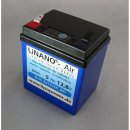 "LiNANO®-Air 5 Ah 12,8V LiFepo4 - ""Blue Sky..."
